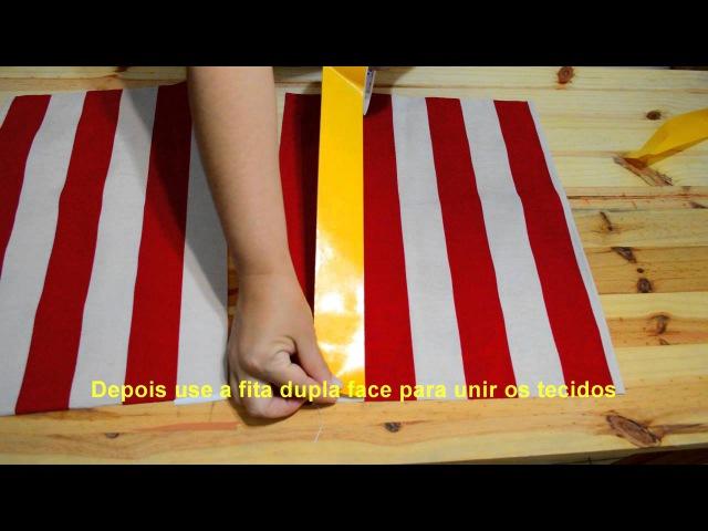 Painel Técnica de emendar tecido