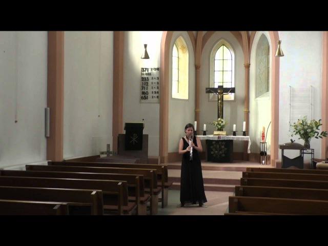J.Widmann. Fantasie für Klarinette Solo