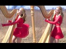 MY IMMORTAL Evanescence Harp Twins Camille and Kennerly HARP ROCK