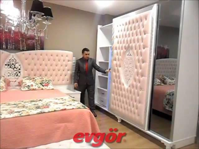 Evgör Mobilya Suite Avangarde Yatak Odası Avangarde Bedroom Set