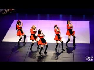 160218 red velvet dumb dumb fancam @ korean entertainment arts awards