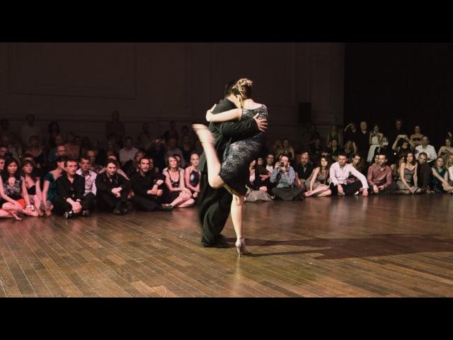 Tango Noelia Hurtado y Carlitos Espinoza 25 04 2015 Brussels Tango Festival 2 3