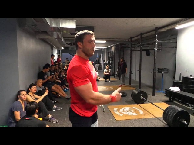 The Impossible Champion Dmitry Klokov France Paris CrossFit Louvre