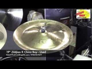 "Zildjian K China Boy 19"" - used - The Drum Shop North Shore"