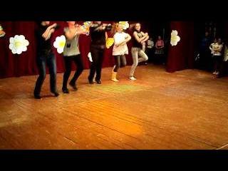 Шуточная сценка(Дискотека в деревне)(репетиция)