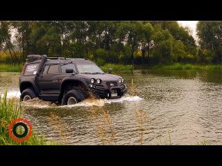 Городской автомобиль вездеход амфибия Лучший для охоты, рыбалки и одновременной езды по городу