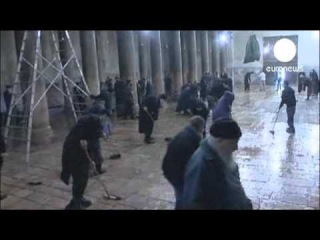 Массовая драка священников в Вифлееме в Храме Рождества Христова