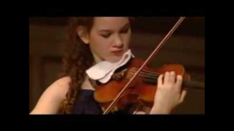 Hilary Hahn plays Ernst' s Grand Caprice on Schubert's Der Erlkönig Op 26