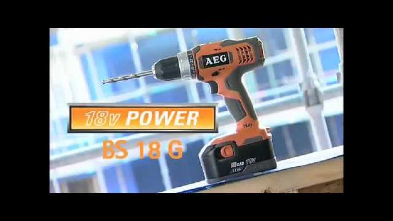 AEG Power tools - Tradesman's Tools
