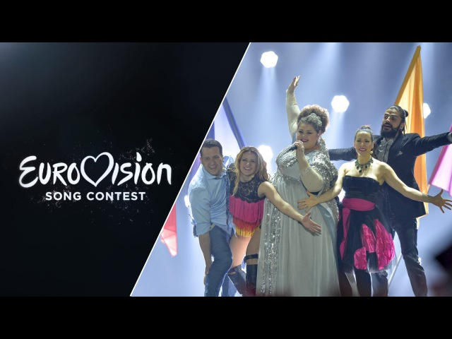 Bojana Stamenov Beauty Never Lies Serbia LIVE at Eurovision 2015 Semi Final 1