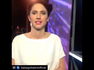 """Lodovica Comello on Instagram: """"#Repost @italiasgottalentofficial with @repostapp. ・・・ Salutiamo il Teatro degli Arcimboldi di Milano e vi diamo appuntamento a Catanzaro…"""""""