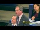 Nigel Farage(UKIP): EU ovládají velké banky, byznys a byrokracie CZ titulky