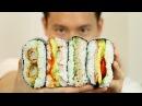 RICE SANDWICH ONIGIRAZU RECIPE おにぎらずレシピ COOKING WITH CHEF DAI