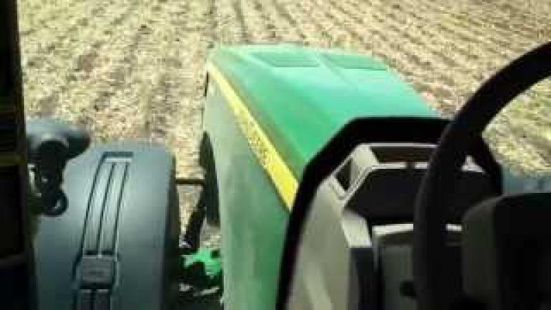 John Deere 8345R Planting Corn With RTK GPS