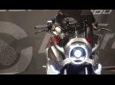 RIMINI Ecco la Honda Burasca, concept bike by Aldo Drudi - VIDEO