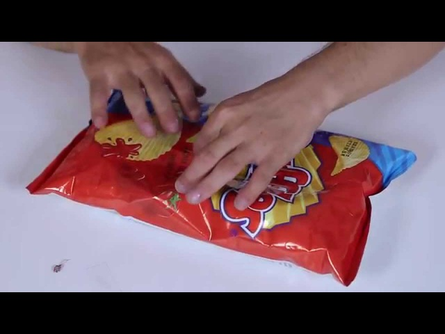 Yanlış Yapmayın: Cips Paketi Böyle Açılmalı