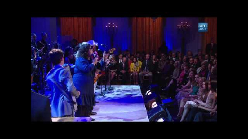Steve Cropper and Booker T Jones Perform Alabama Shakes at In Performance at the White House