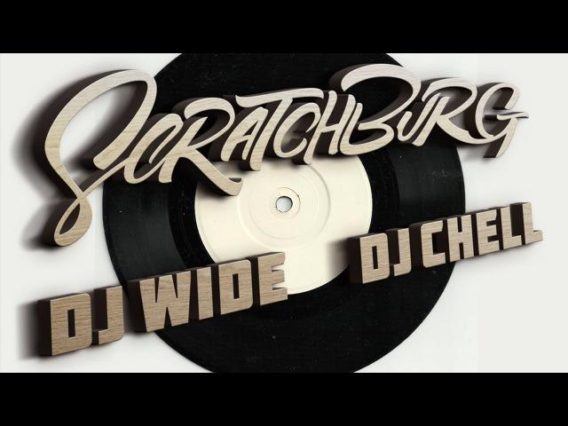 SCRATCHBURG DJ WIDE DJ CHELL When two portable scratchers meet each other