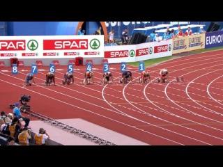 100m Men's Semifinal 1 - European Athletics Championships 2016