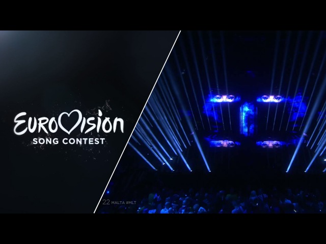 LIVE Ira Losco Walk On Water Malta at the Grand Final Eurovision Song Contest