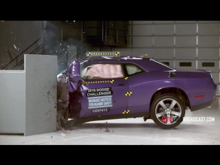 2016 Dodge Challenger - Crash Test - Small Overlap Front
