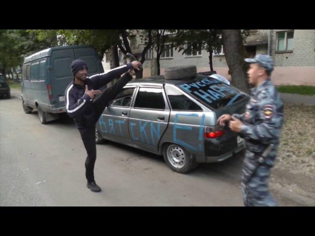 Загадочный угон 12 на улице Труда. Место происшествия 04.07.2016