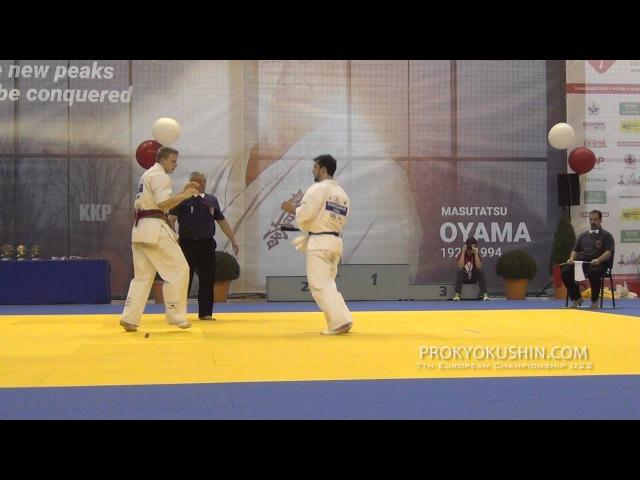 7 EC U22 Final 80 Grevas Arnoldas Lithuania aka Ozbetelashvili Lasha Georgia