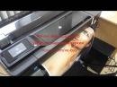 РПК ТР. Печать полноцветного изображения формата А1 на плоттере HP 520