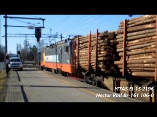 NSB Bm 74 'TwentyTwo' Meets MTAS El 15 'Deckard' on the Main Line At Lillehammer