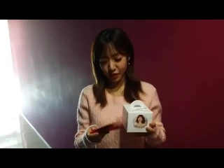 [SELF-CAM] A PINK (NamJoo) - MESSAGE on FACEBOOK A PINK [141227]