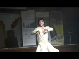 Karan Pangali - Kathak Dance in Durga Pooja, October 2011