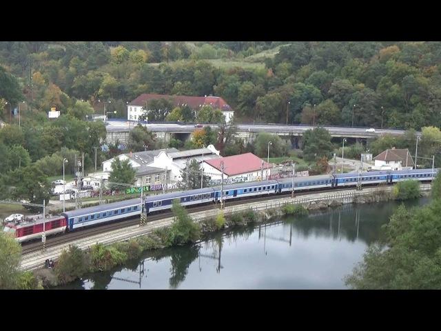 Vlaky Blansko - nad jezerem 10.10.2016