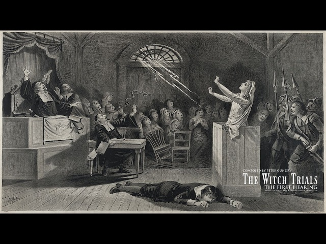 Dark Music The Witch Trials The First Hearing