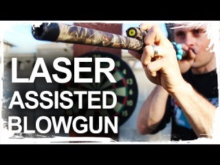 How To Make A Laser Assisted Blowgun how to make a laser assisted blowgun