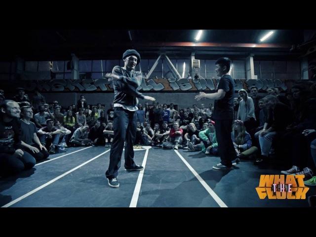 What The Flock vol 3 Popping 1x1 FINAL Dima Kim vs Murra