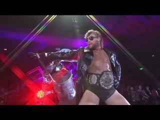 Kenny Omega entrance NJPW Power Struggle 2015