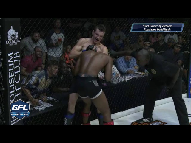 GFL Top 5 Finishes Sparta Combat League Xcessive Force FC WNFS GPS for KO's and Subs