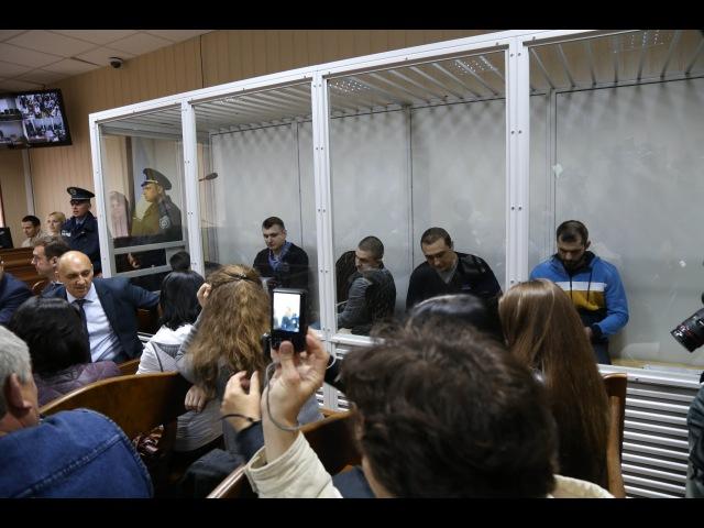 5 екс-беркутівцям у справі розстрілів на Інститутській почали зачитувати обвинувачення