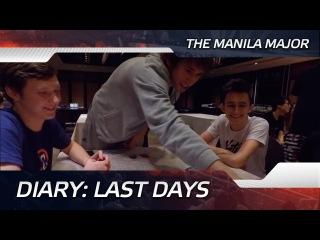 Diary: Last days @ The Manila Major (ENG SUBS!)