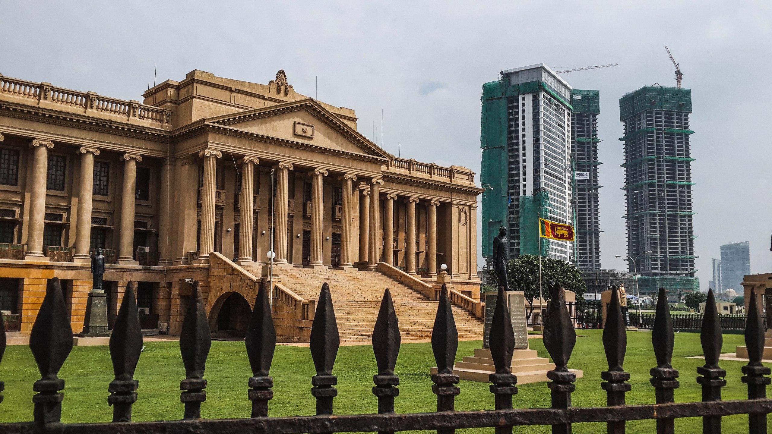Коломбо, Шри-Ланка, ноябрь 2016
