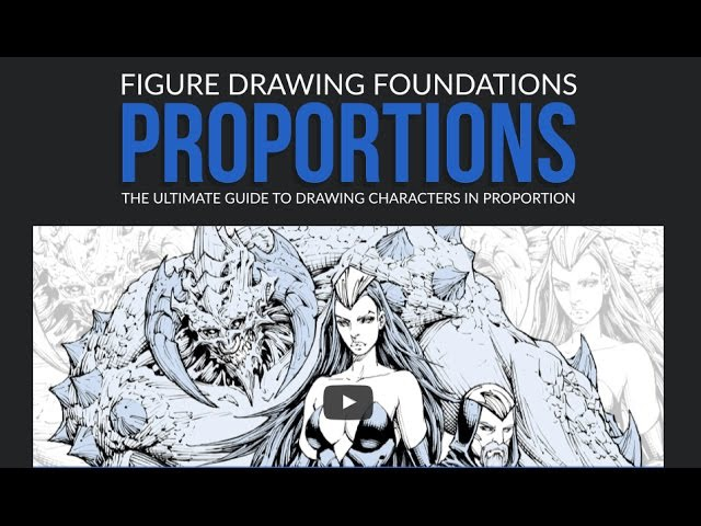 How to Draw Comics Figure Drawing Foundations Proportions Promo