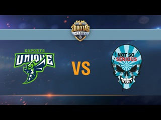 UNIQUE vs Not So Serious - day 2 week 5 Season II Gold Series WGL RU 2016/17