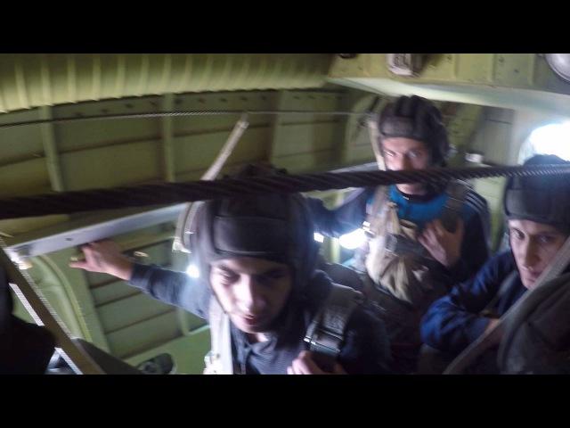стрибки з парашутом Дз Воронів 10 09 2016