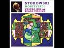 Leopold Stokowski Vespro Della Beata Vergine Monteverdi