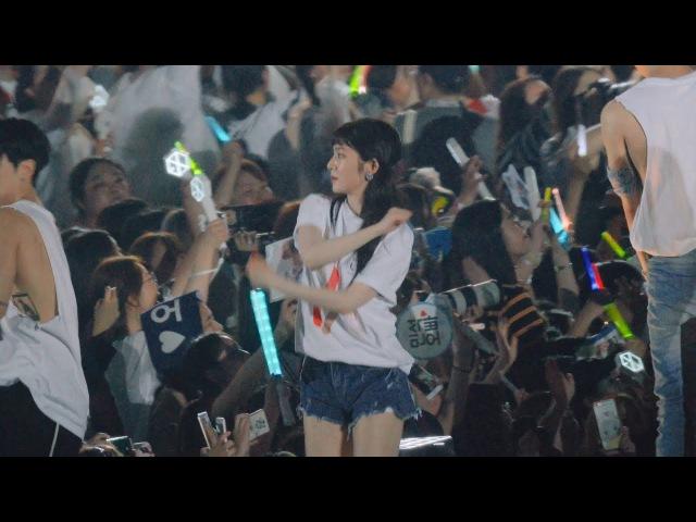 종현 보고 놀란 배주현(아이린) 레드벨벳(RedVelvet) ,Shinee 샤이니@170708 SM 콘서트 [4k Fancam/직캠
