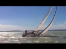 Dismasted. What would you say to the guys laughing as they watch it from the motorboat??