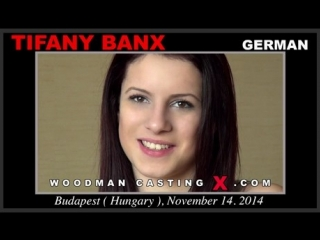 Анальный кастинг Tifany Banx  (Woodman Casting, anal, dp)