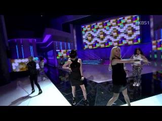  Выступление  2NE1 - DO YOU LOVE ME @KBS.
