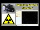 Webcam detector for radioactive radiation - Webcam Detektor für radioaktive Strahlung