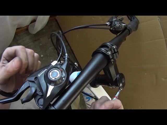 Велосипед с Aliexpress сборка из коробки